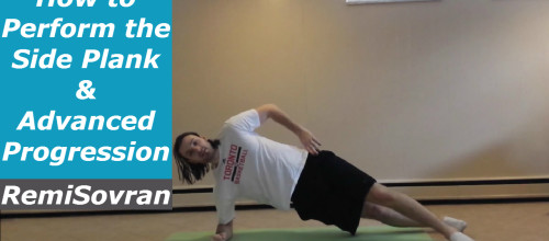 How to Perform the Side Plank & Advanced Progression