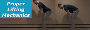 How to Practice Proper Lifting Mechanics | Bending at the Hip Vs. Bending at the Back