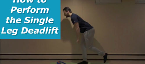 How to Perform the Single Leg Romanian Deadlift (SLRDL)